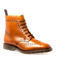 6 Eye Brogue Derby Boot Solovair