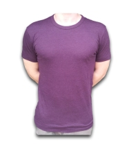 Aubergine Bamboo T-shirt from Riley and Silver