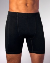 Black Bamboo Boxers from Riley and Silver