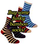 Funky Bamboo Socks